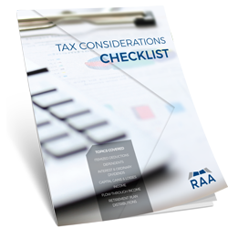 tax-considerations-checklist