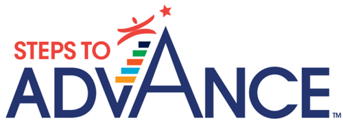 Steps to Advance Logo